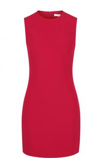 Приталенное мини-платье без рукавов Givenchy
