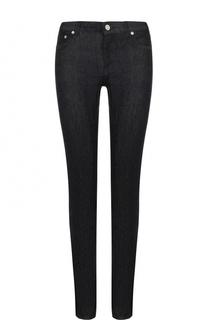 Однотонные джинсы-скинни с логотипом бренда Givenchy
