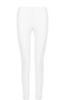 Укороченные кожаные брюки-скинни Givenchy
