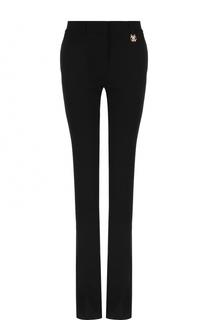 Однотонные расклешенные брюки с карманами Roberto Cavalli