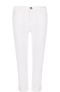 Укороченные однотонные джинсы-скинни Current/Elliott