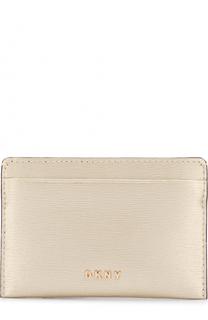Кожаный футляр для кредитных карт DKNY