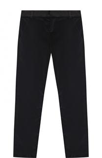 Бархатные брюки Lanvin