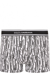 Хлопковые боксеры с принтом Dolce & Gabbana