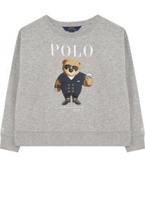 Свитшот с принтом Polo Ralph Lauren