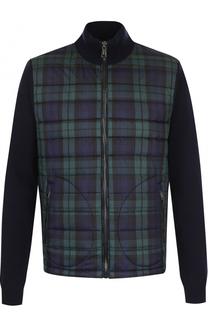 Шерстяная куртка на молнии с воротником-стойкой Polo Ralph Lauren