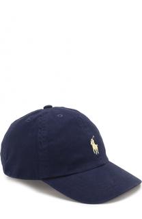 Бейсболка с логотипом бренда Polo Ralph Lauren
