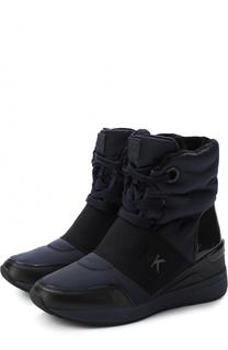 Текстильные ботинки Shay на шнуровке MICHAEL Michael Kors