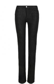 Однотонные расклешенные джинсы с карманами Armani Jeans