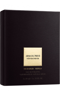 Туалетная вода Armani Prive Vetiver DHiver Refills Giorgio Armani