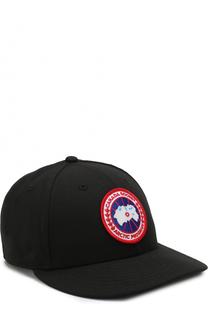 Бейсболка с логотипом бренда Canada Goose