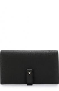 Кожаное портмоне с футляром для кредитных карт Saint Laurent