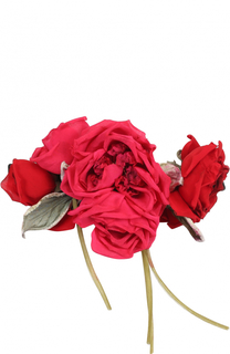 Пояс с декором в виде цветов Dolce & Gabbana
