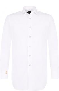 Хлопковая сорочка с воротником кент Billionaire