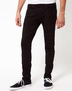 Черные джинсы скинни River Island - Черный