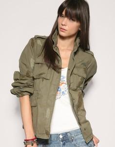 Куртка в стиле милитари с камуфляжным принтом Levis - Зеленый Levis®