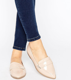 Туфли на плоской подошве для широкой стопы ASOS MARIKA - Бежевый