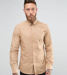 Рубашка с принтом крестов Noose and Monkey - Рыжий