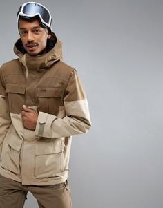 Горнолыжная куртка Volcom Alternate - Коричневый