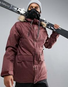 Утепленная лыжная куртка Volcom Midtown - Красный