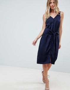 Платье-комбинация Adelyn Rae Viola - Синий