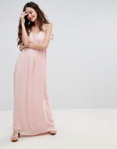 Платье макси на бретельках Pimkie - Розовый
