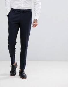 Эластичные брюки слим Harry Brown - Темно-синий