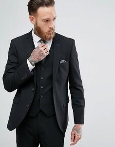 Облегающий пиджак Harry Brown - Черный