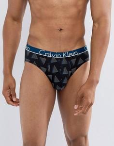 Трусы с принтом Calvin Klein ID - Черный