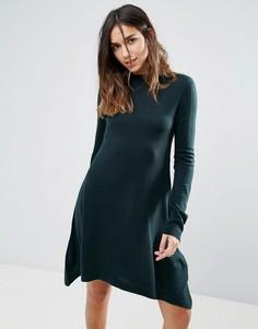 Свободное платье-джемпер Brave Soul - Зеленый