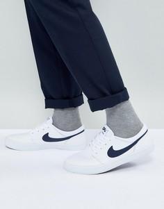 Белые кроссовки Nike SB Portmore II Solar Premium 923115-141 - Белый