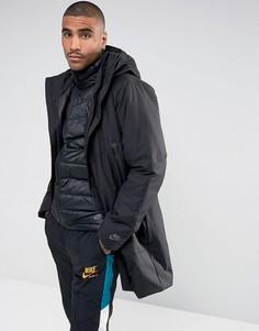 Черный пуховик 2 в 1 Nike Aeroloft 863730-010 - Черный