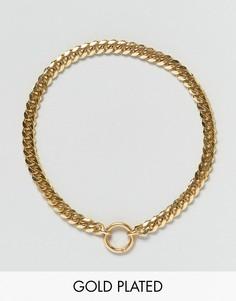 Позолоченное ожерелье Gogo Philip - Золотой
