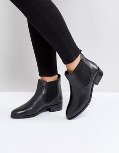 Кожаные ботинки челси Rule London - Черный