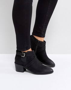 Кожаные ботинки Rule London - Черный