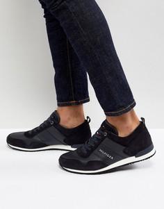 Темно-синие замшевые кроссовки Tommy Hilfiger Maxwell - Темно-синий