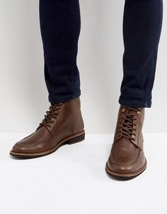 Кожаные ботинки Silver Street - Черный