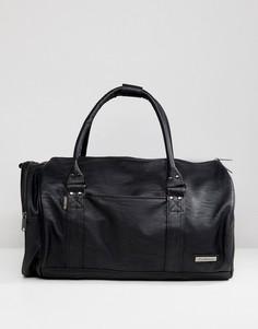 Черная сумка Ben Sherman Barrel - Черный