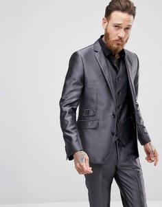 Облегающий пиджак Devils Advocate - Серый