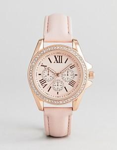 Золотисто-розовые часы и браслет в подарочном наборе ALDO Fossatillo - Золотой
