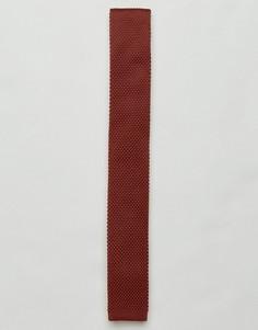 Вязаный галстук Gianni Feraud - Оранжевый