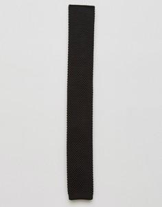 Вязаный галстук Gianni Feraud - Черный