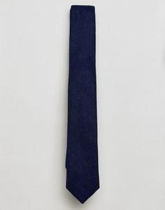 Однотонный галстук Gianni Feraud - Темно-синий