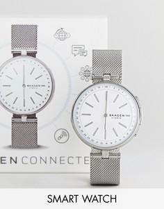 Смарт-часы Skagen Connected SKT1400 Signatur - Серебряный