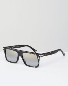 Квадратные солнцезащитные очки с эффектом брызг Marc Jacobs - Черный