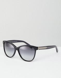 Солнцезащитные очки кошачий глаз с затемненными стеклами Marc By Marc Jacobs - Черный
