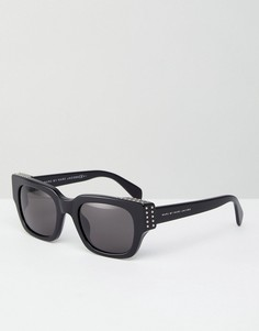 Квадратные солнцезащитные очки Marc By Marc Jacobs - Черный