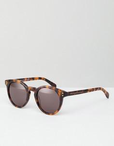 Солнцезащитные очки с черепаховой оправой Marc By Marc Jacobs - Коричневый