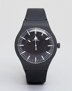 Часы с силиконовым ремешком ASOS - Черный