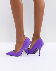 Туфли-лодочки на каблуке River Island - Фиолетовый